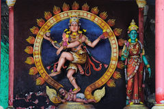 Statue indiane della divinità in caverne di Batu, Malesia immagini stock