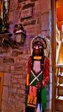 Statue indigène à vieux Québec image libre de droits