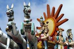 Statue indoue Images libres de droits