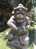 Statue indoue dans Ubud image libre de droits