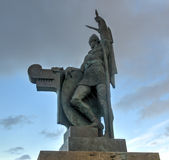 Statue of Ingolf Arnarson, Reykjavik, Iceland Stock Photography