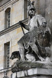 Statue in the Invalides Palace Royalty Free Stock Photos