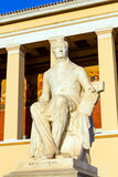 Statue of Ioannis Kapodistrias, first Governor of Greece, Athens, Greece Stock Image