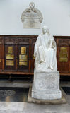 Statue of Isaac Barrow In Trinity College Chapel Royalty Free Stock Image
