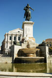 Statue of Isabel the Second de Borbon Royalty Free Stock Photos