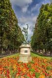 Statue ist Luxemburg-Palast-Garten in Paris Frankreich Lizenzfreie Stockbilder