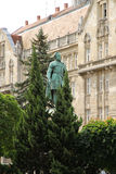 Statue of Istvan Szechenyi in Sopron. Hungary Royalty Free Stock Photography