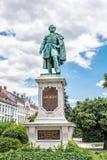 Statue of Istvan Szechenyi, Sopron, Hungary. Statue of Istvan Szechenyi in Sopron, Hungary. Artistic object. Travel destination stock photos