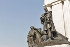 Statue of Istvan Tisza, former Hungarian prime minister, Budapest. Royalty Free Stock Photos