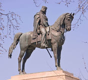 Statue of italian hero giuseppe garibaldi Royalty Free Stock Images