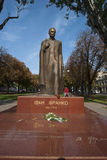 Statue of Ivano Franko in Odessa Royalty Free Stock Photography