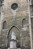 Statue of Jacques-Benigne Bossuet Royalty Free Stock Photo