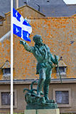 Statue Jacques-Cartier Stockbild