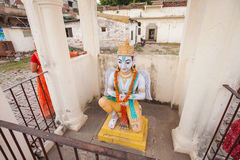 Statue on the Jagganath Temple grounds Royalty Free Stock Photos