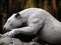 Statue Jaguar photo libre de droits