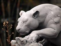Statue Jaguar image stock