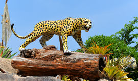 Statue Jaguar tiger Stock Photography