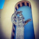 Statue am Jahrmarkt von Texas stockfotografie
