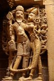 Statue in a Jain temple Stock Photography