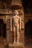 Statue of Jain thirthankara Royalty Free Stock Photography