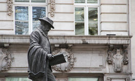 Statue of James Henry Greathead, London Royalty Free Stock Photography