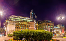 Statue of James Oswald on George Square in Glasgow Royalty Free Stock Image