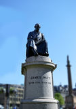 Statue of James Watt, inventor of the steam engine Royalty Free Stock Photo