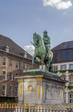 Statue of Jan Wellem, Dusseldorf, Germany Stock Photo