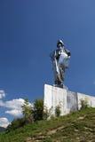 Statue of Janosik stock image