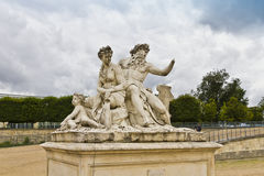 A statue in Jardin des Tuileries. Royalty Free Stock Images