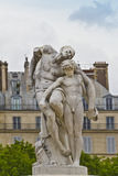 A statue in Jardin des Tuileries. Royalty Free Stock Image