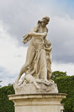 A statue in Jardin des Tuileries. Royalty Free Stock Photos