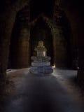 Statue of Jayavarman VII at Phimai historical park. Royalty Free Stock Images