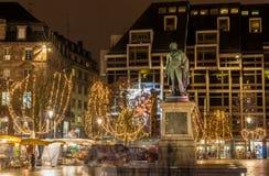 Statue of Jean Baptiste Kleber in Strasbourg. France Stock Images