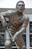 Statue of Jean Beliveau Stock Photography