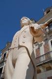 Statue of Jean Robert-Houdin Stock Images