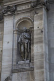 statue of Jean Sylvain Bailly Stock Photo