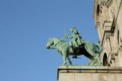 Statue of jeanne d`arc, Paris Royalty Free Stock Image