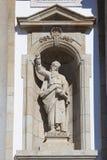 Statue of Jeremias in Bom Jesus do Monte, Braga Royalty Free Stock Photography