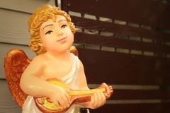 Statue of Jesus as a child in the church. Royalty Free Stock Image