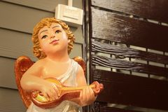 Statue of Jesus as a child in the church. Royalty Free Stock Photography