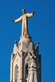 Statue of Jesus in Barcelona Stock Photos
