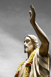 Statue of Jesus Christ in a Blessing Posture Royalty Free Stock Photo