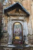 Statue of Jesus Christ in Corleone in Sicily, Italy. Statue of Jesus Christ on a street of the old town of Corleone, a town known for associating with the mafia Royalty Free Stock Images