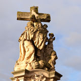 Statue of jesus christ crucified Stock Images