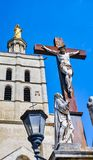 Statue of Jesus Christ, Palace of the Popes,Avignon Royalty Free Stock Photography