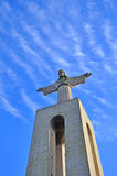 Statue of Jesus Christ in Lisbon Royalty Free Stock Image