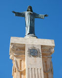 Statue of Jesus Christ on the Mount of Monte Toro Stock Photo