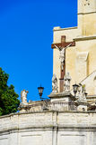 Statue of Jesus Christ, Palace of the Popes,Avignon Stock Photo