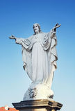 Statue of Jesus Christ in Velehrad, Czech republic Stock Photography